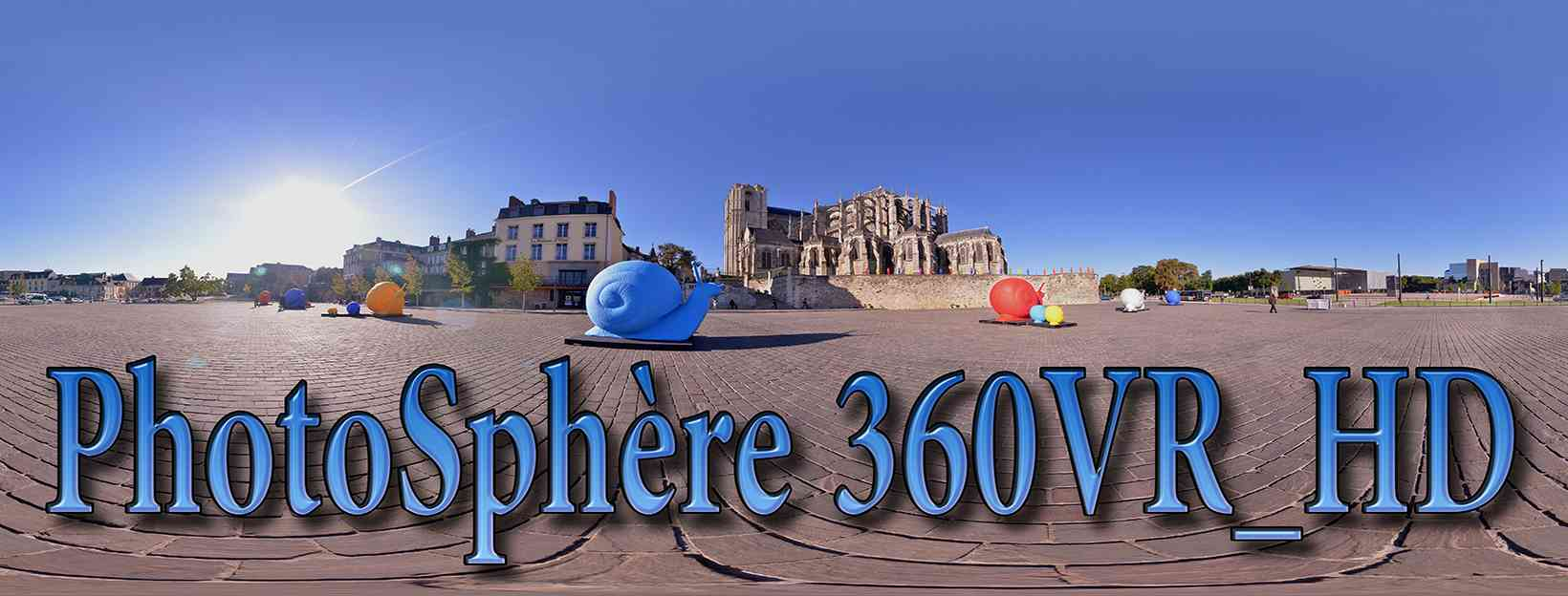 Photosphere 360 VR | Le Mans France | 360 3D VR tours