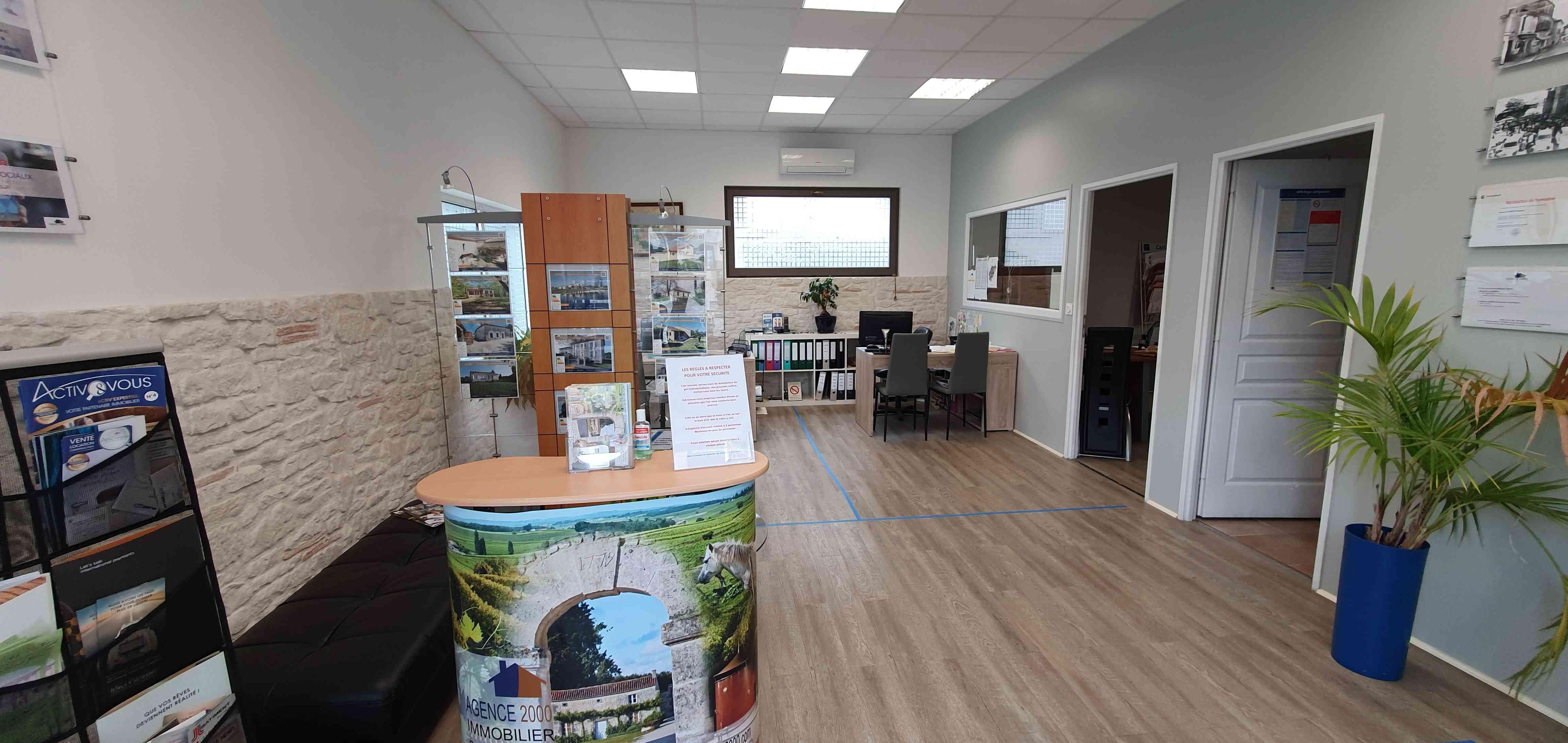 Agence 2000 Immobilier | Barbezieux-Saint-Hilaire France | visite virtuelle 360 3D VR