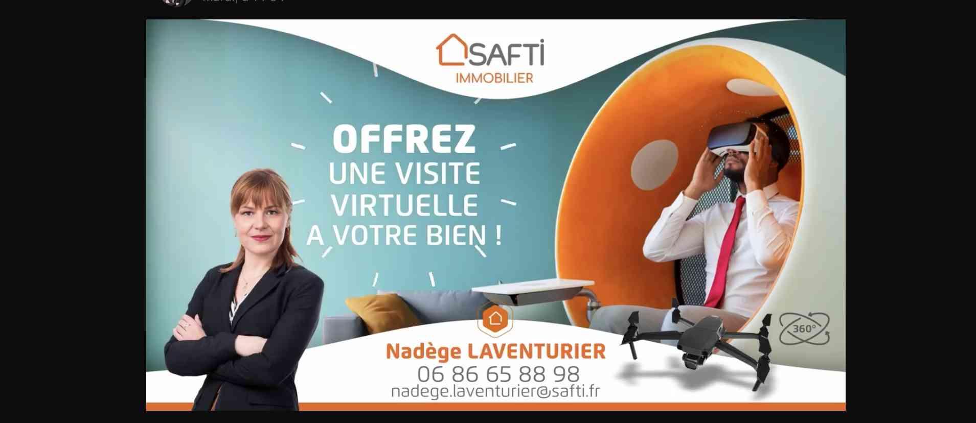 Nadège Laventurier Safti-immo   Ajaccio France   visite virtuelle 360 3D VR