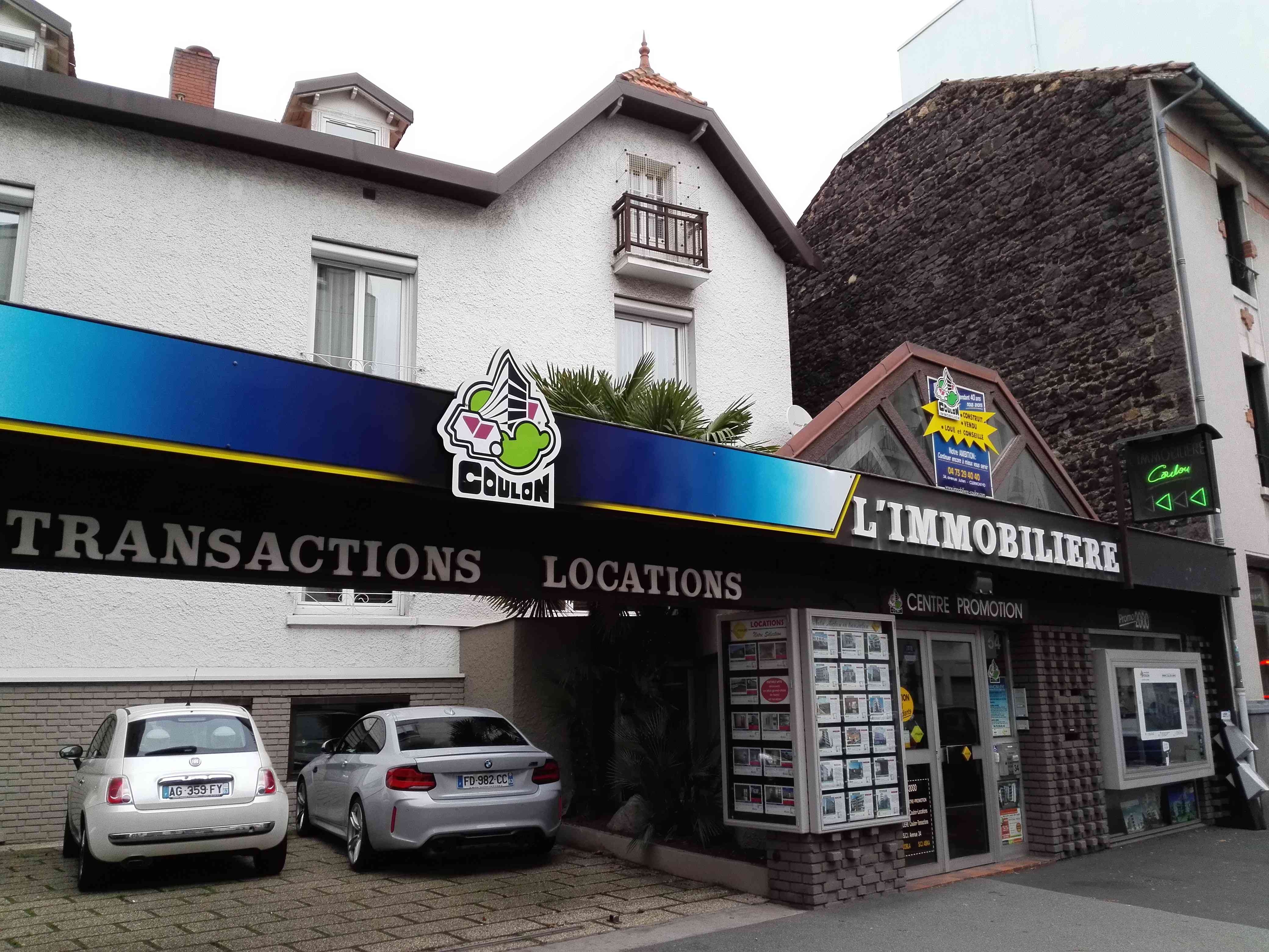 Immobilière Coulon | Clermont-Ferrand France | visite virtuelle 360 3D VR