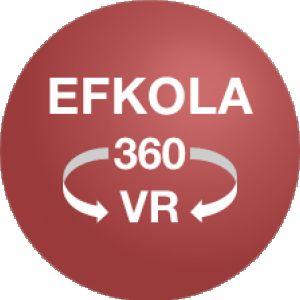 Avatar logo | EFKOLA 360 | Courbevoie France | photographe visite virtuelle 360