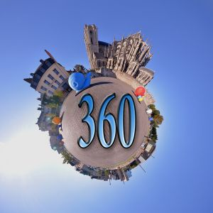 Avatar logo | Photosphere 360 VR | Le Mans France | photographer 360 tour