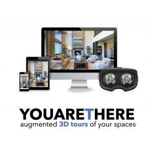 Avatar logo | YOUARETHERE 3D | Brussels Belgium | 360 3D VR tours