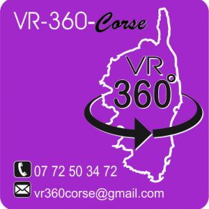 Avatar logo | VR-360-Corse | Ajaccio France | 360 3D VR tours