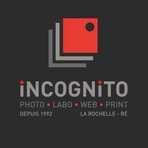 Avatar logo | INCOGNITO Photo. Labo. Web. Print. | La Rochelle France | Photographe visite virtuelle 360° 3D