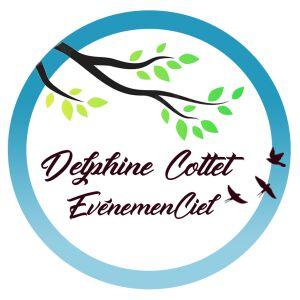 Avatar logo | Delphine Cottet EvenemenCiel | Pomport France | Photographe visite virtuelle 360° 3D