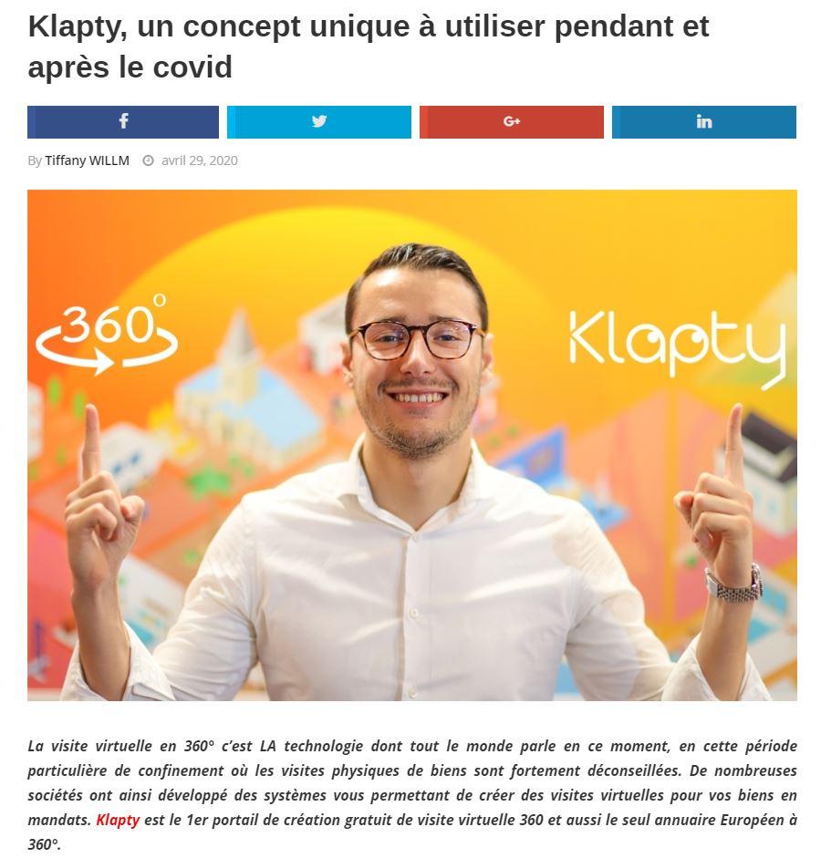 Klapty Corentin COVID