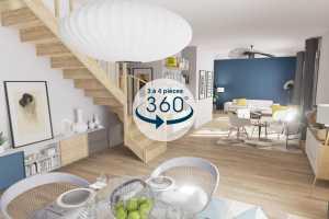 Price and cost A 360 Immo Forfait Visite Virtuelle (3 \u00e0 4 pi\u00e8ces)