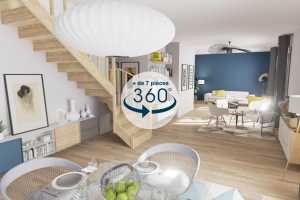 Price and cost A 360 Immo Forfait Visite Virtuelle (7 pi\u00e8ces et plus)