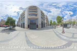 Tarif et coût ParisdisePhotography Pack 1 \u00e0 5 photos 360\u00b0 + HD