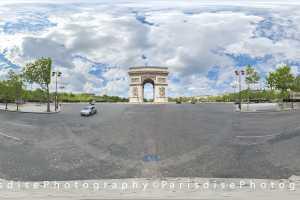 Tarif et coût ParisdisePhotography Pack 5 \u00e0 10 photos 360\u00b0 + HD
