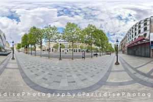 Tarif et coût ParisdisePhotography Pack 10 \u00e0 15 photos 360\u00b0 + HD