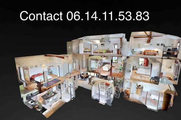 Tarif et coût visite virtuelle minervois visite 360 Matteport