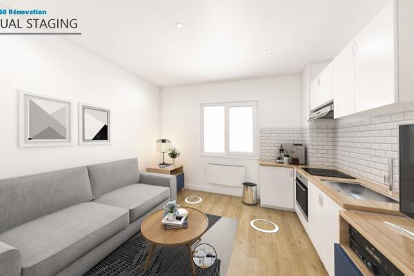 Price and cost Serge WOJTOWICZ Home staging virtuel 1 vue 360