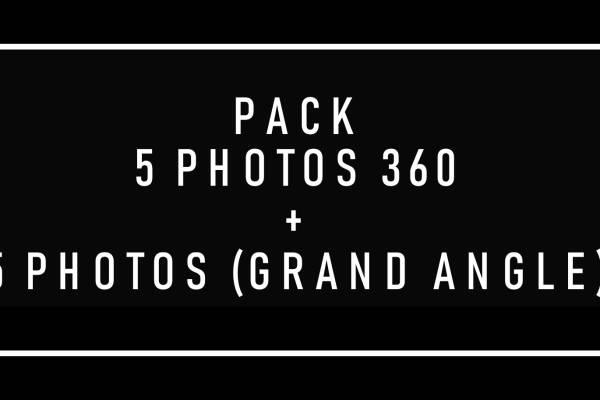 Price and cost Sandra rossi correia SHOOTING PHOTO 360\u00b0 + GRAND ANGLE : 5+5