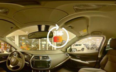 Suzuki S-Cross (vues 360° en intérieur)