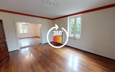 Visite virtuelle pour la vente d'une maison