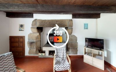 Visite 3D matterport Gite Bretagne