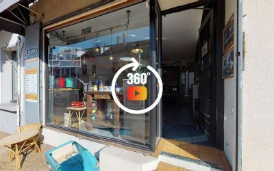 Visite 3D matterport Boutique O'Range Metalic