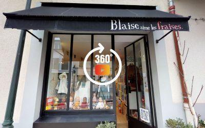 Visite 3D matterport Boutique Blaise aime les fraises