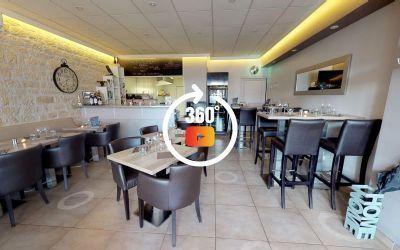 Visite 3D matterport Restaurant Le Refuge