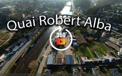 chateaulin vue du quai robert alba à 360°
