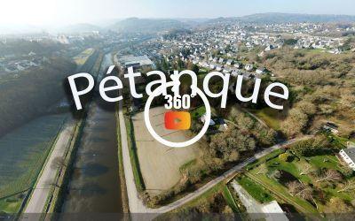 Châteaulin vue du nord-est à 360°