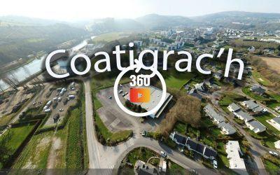 Châteaulin vue sud-est à 360°