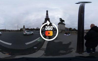 Du Trocadero à la Tour Eiffel