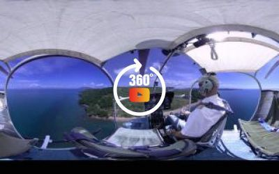 Visite 360 Hélicoptère Alouette 2