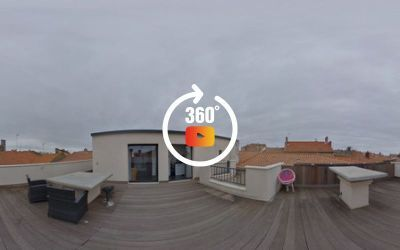 Rooftop apartment Béziers