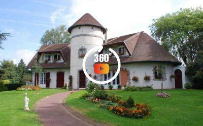 Chambres hôtes les 4 vents Yzengremer visite 360°