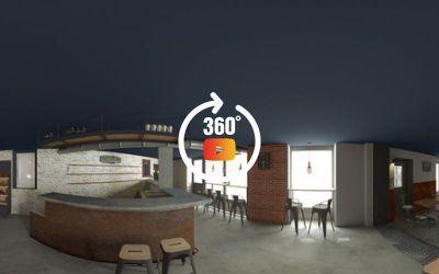 Modélisation 3D d'un bar à bière