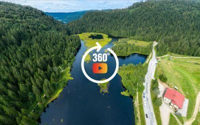 Lac 360 aérien
