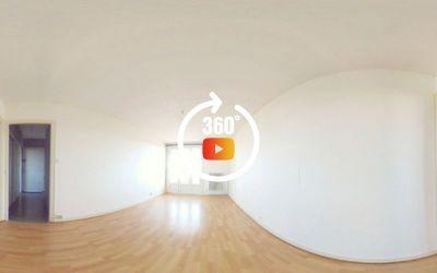 Appartement lumineux 3 pièces, 56 m², Les Cras
