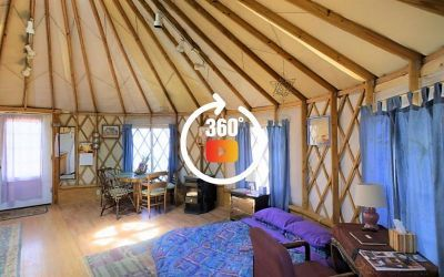 Enchanted Llama Yurt