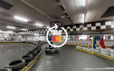 Indoor Kart Racing, Werther, Germany