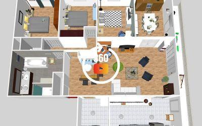 Appartement Velizy Dernier étage Quartier Mozart
