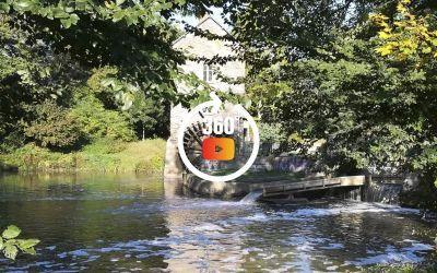 Moulin à eau à Saint-Grégoire