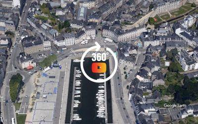 Survol de Vannes et Golfe du Morbihan