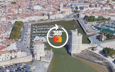 Survol de La Rochelle