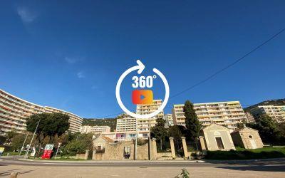 En Corse à Ajaccio, Appartement de type F1 situé dans la Résidence Le Mars