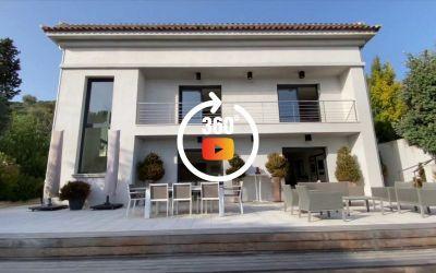 Ajaccio - A vendre Villa Bois des Anglais - Vente d'une villa d'architecte de 289 m² avec piscine, à deux pas du centre ville.