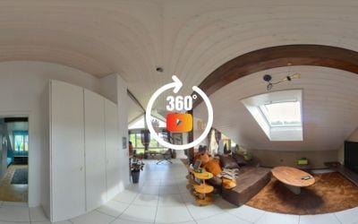 Superbe attique de 5 pièces haut de gamme à l'état neuf à Courtepin