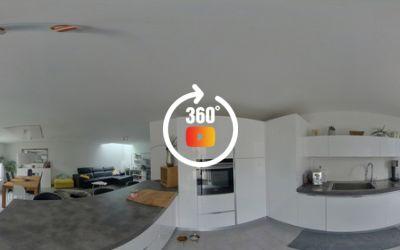 Superbe appartement avec 2 terrasses à Vouvry