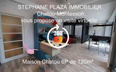 MAISON CHATOU 3' GARE RER A