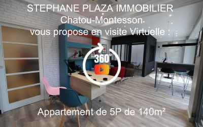 Appartement 5P 140m²