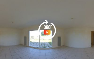 Pavillon de plain-pied 3 chambres à Condéon