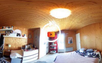Visitez de chez vous ma maison 3 CH + 1 bureau sur une parcelle de 603 m² au calme