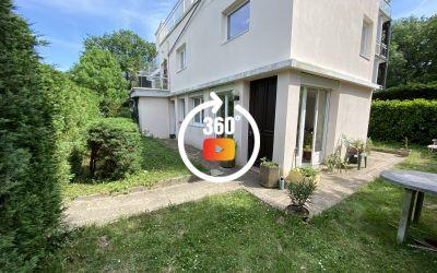A vendre appartement jardin